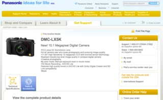 Panasonic Lumix DMC-LX5K leaks