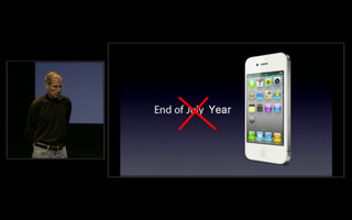 White iPhone 4 delayed till later in year