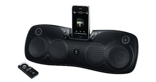 Logitech Rechargeable Speaker S715i: Travel iPod dock making a big noise