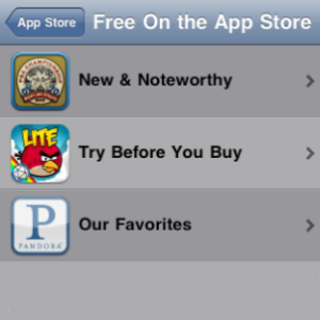"""Apple urges app fans to """"Try Before You Buy"""""""