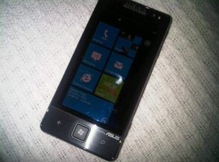 Asus Windows Phone 7 shows up