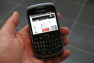 BlackBerry Curve 3G hands-on