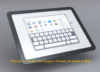 Google Chrome OS tablet in time for Christmas