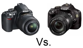 Nikon D3100 vs Canon EOS 550D (Rebel Ti2)