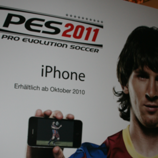iPhone gets footie fever with PES 2011