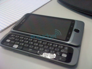 T-Mobile G2, aka HTC Vision, stops to pose for camera, again