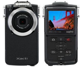 Sanyo adds PD2BK to crowded pocket-cam market