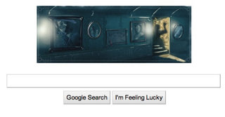 Google shows its scary side with Shelly inspired Google Doodle