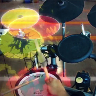 VIDEO: Rock Band of the future - augmented reality style