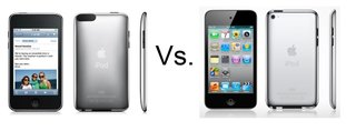 iPod touch 3rd Gen vs iPod touch 4th Gen
