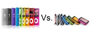 iPod nano 5th gen vs iPod nano 6th gen