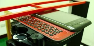 HTC PD42100: Slider QWERTY and Android 3.0?