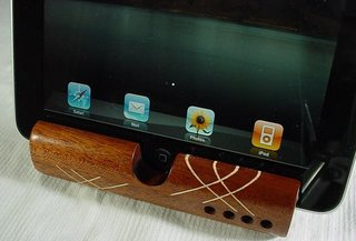 Wood you like more iPad volume?