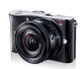 Samsung NX100 render breaks cover