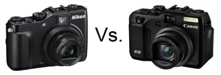 Nikon Coolpix P7000 vs Canon PowerShot G12