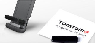 TomTom Car Kit free adapter for iPhone 4 offered