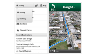 Android Google Maps update walks on by