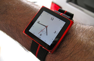 iPod nano watch strap - was only a matter of time