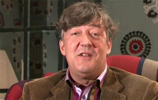 Stephen Fry biography available on iPad / iPhone and hardback