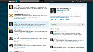New look for Twitter
