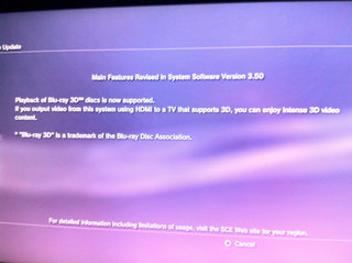 Sony PS3 Blu-ray 3D support is here
