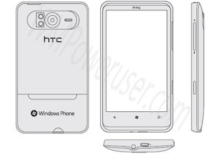 HTC HD7 revealed... Sort of