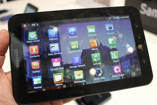 Samsung admits Galaxy Tab app scaling issue