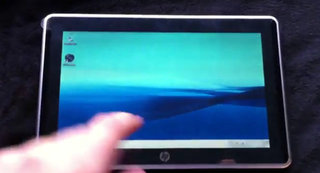 HP Slate turns up for 4 minutes of unofficial fame