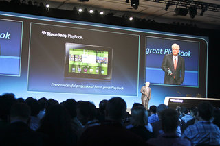 BlackBerry PlayBook: RIM launches tablet