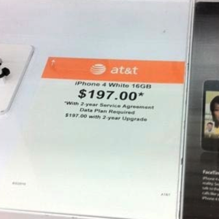 White iPhone 4 on its way soon?