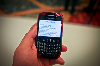 BlackBerry OS 6 on Pearl 3G, Curve 3G, Bold 9700 hands on