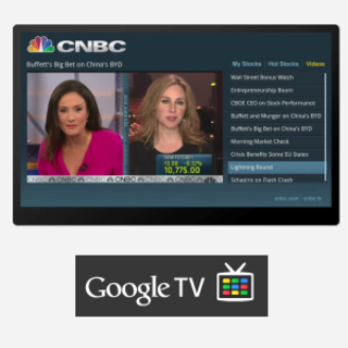VIDEO: Google TV apps in action
