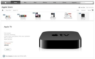 Apple TV goes on sale in the UK