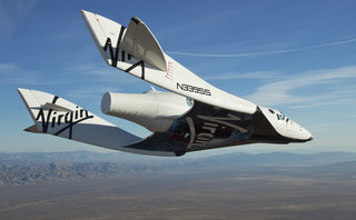 Virgin Galactic succeeds in first solo test flight