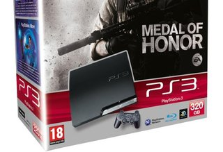 PS3 320GB and Medal of Honor Limited Edition bundle £259.99