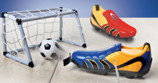 Remote controlled football boots: Surely an own goal?