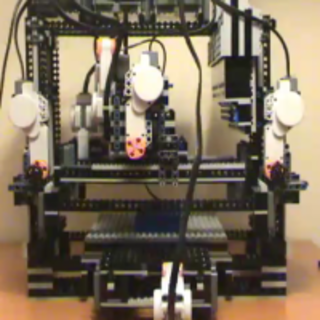 VIDEO: Awesome Lego 3D printer