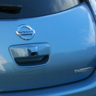 Hands (and driving gloves) on with the Nissan Leaf