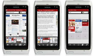 Opera Mini lands for Nokia devices