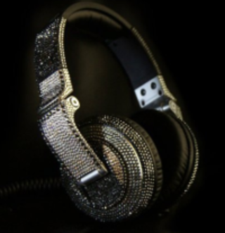 It's a bling ting: Swarovski inspired Pioneer HDJ-2000 headphones