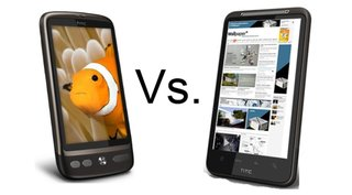 HTC Desire HD vs HTC Desire