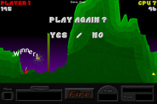 App of the Day - Pocket Tanks (iPhone)