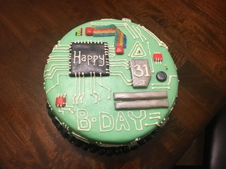 Awesome Best Cakes For Geeks Delicious Delights For Your Eyes And Your Funny Birthday Cards Online Inifofree Goldxyz