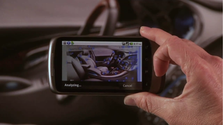 Google Goggles experiments with interactive ads