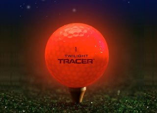 Twilight Tracer golf ball keeps you on course for par