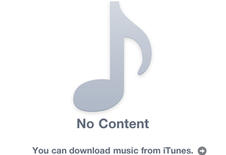 """Fix your iPhone iOS 4.2 iPod """"No Content"""" bug"""