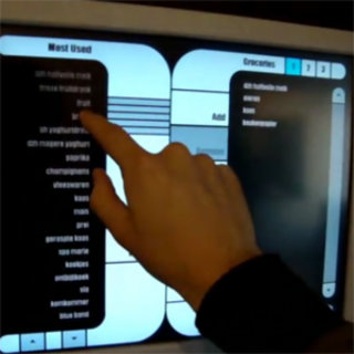 VIDEO: Custom-built Star Trek computer controls shopping and entertainment