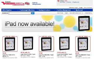 Apple iPad discounted by online retailer
