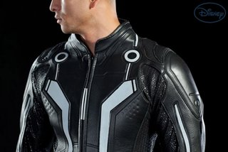 Sam Flynn Tron: Legacy suit leathers in
