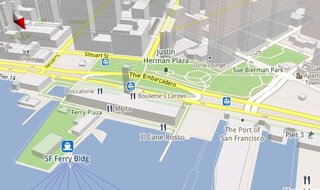Google Maps goes 3D for Android